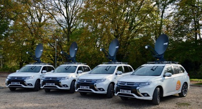 ITV Tunes Into The Benefits Of The Mitsubishi Outlander PHEV