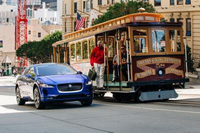 Jaguar Announces National Marketing Launch Plans For All-Electric Jaguar I-Pace