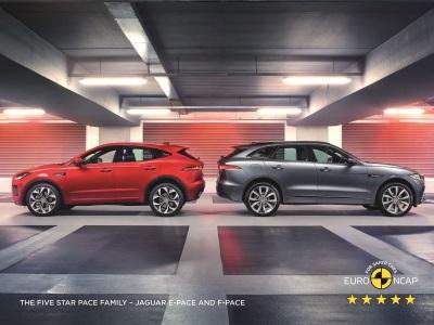 Jaguar F-Pace Secures Five-Star Safety Rating