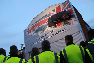 Jaguar F-Type Landmark Gets Stunning Poppy Appeal Makeover