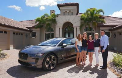 Jaguar North America's First Jaguar I-Pace Customer
