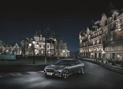 Jaguar I-Pace Completes Lap Of Monaco Grand Prix Circuit