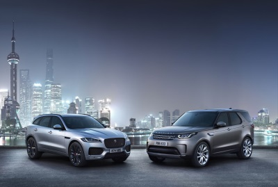 Jaguar Land Rover Announces October U.S. Sales