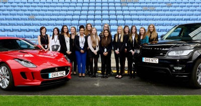 JAGUAR LAND ROVER OPENS ITS DOORS TO FEMALE STUDENTS INTERESTED IN EXCITING ENGINEERING CAREERS