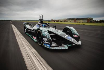 Jaguar Racing Renews Multi-Year Partnership With GKN Automotive