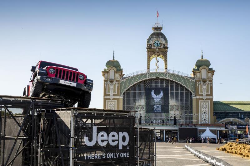 Jeep® Brand Celebrates 115Th Anniversary Of Harley-Davidson® In Prague