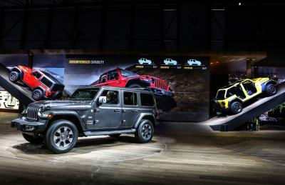 Jeep Brand At The 2018 Geneva International Motor Show