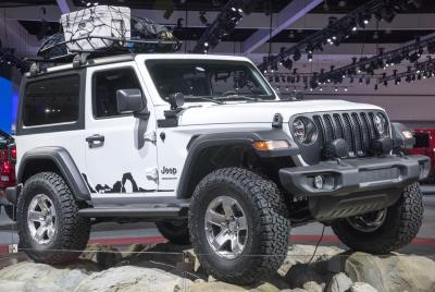 All New 2018 Jeep® Wrangler Makes Its Way To The 2018 Consumer Electronics  Show In Las Vegas
