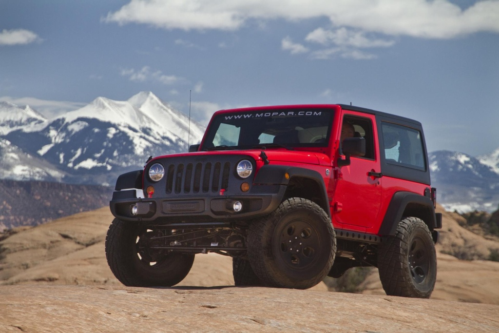 Jeep Wrangler Named Sema S Hottest 4x4suv For Fourth Consecutive Year Conceptcarz Com