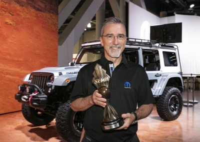 Jeep® Wrangler Named 'Hottest 4X4-SUV' At SEMA