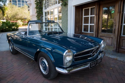 Beatle John Lennon's personal 1965 Mercedes-Benz 230SL to go under the hammer at Worldwide's Scottsdale Auction