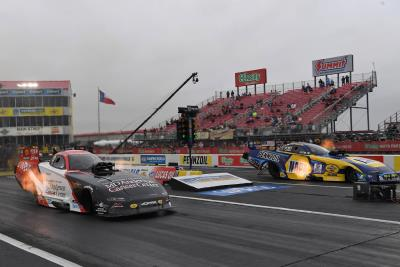 Johnson Jr. Earns Win At 'Mopar Express Lane NHRA Springnationals Presented By Pennzoil' To Keep MD Anderson Dodge Charger SRT Hellcat In Fight For Funny Car Championship