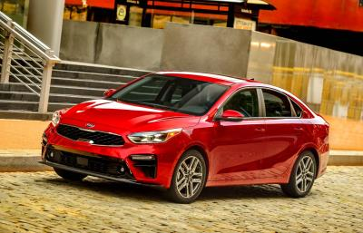 Kia Forte Named Segment Winner In J.D. Power 2019 Automotive Performance, Execution, And Layout (Apeal) Study