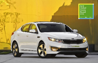 KIA MOTORS ENTERS INTERBRAND'S LIST OF 50 BEST GLOBAL GREEN BRANDS 2013
