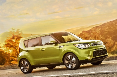 2014 Kia Soul Urban Passenger Vehicle Lights Up San Diego's Scenic Roads