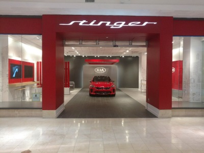 Kia Opening Interactive 'Stinger Salons' In The U.S. To Showcase The Most Highly Anticipated Vehicle In Company History
