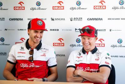 Kimi Räikkönen And Antonio Giovinazzi To Race With Alfa Romeo Racing Orlen In 2021