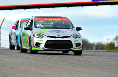Kinetic Motorsports Scores First Win With Privateer Forte Koup Program In Pirelli World Challenge