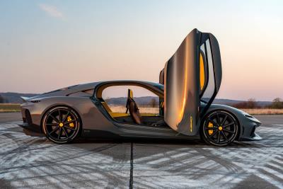 All-New Koenigsegg Gemera Makes Its UK Debut At Salon Privé