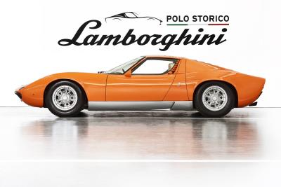 Lamborghini Polo Storico Discovers And Certifies The Miura P400 Used In The 1969 Film 'The Italian Job'