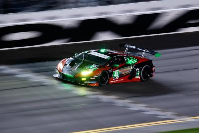 Lamborghini Celebrates Third Victory At The 24 Hours Of Daytona With Sensational One-Two Finish