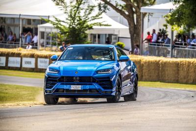 Automobili Lamborghini At Goodwood Festival Of Speed 2019: The Latest And Legendary Run Up The Hill