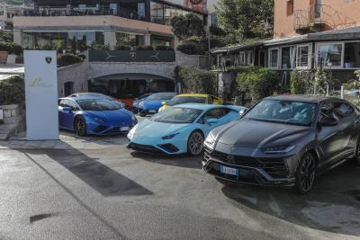 Lamborghini Lounge Returns To Porto Cervo: Live Premier Of Huracán EVO Rwd Spyder With An Exclusive Colours And Stars Dinner By Mauro Colagreco