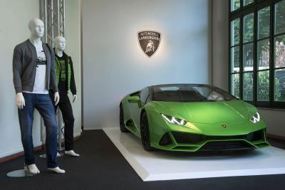 Automobili Lamborghini Menswear S/S 2020 At Pitti Uomo