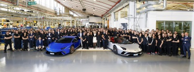 Production Records For Lamborghini: 7,000 Aventador And 9,000 Huracán Produced In Six And Three Years Respectively