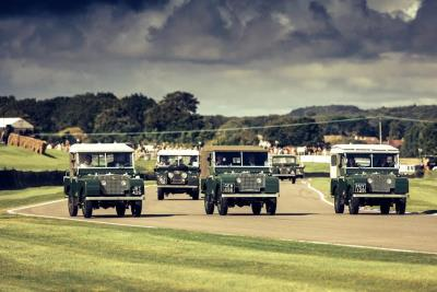 Land Rover Celebrates 70 Glorious Years At Goodwood Festival Of Speed 2018
