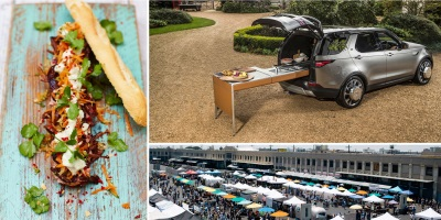 Land Rover To Make Smorgasburg La Debut With Jamie Oliver Bespoke Discovery