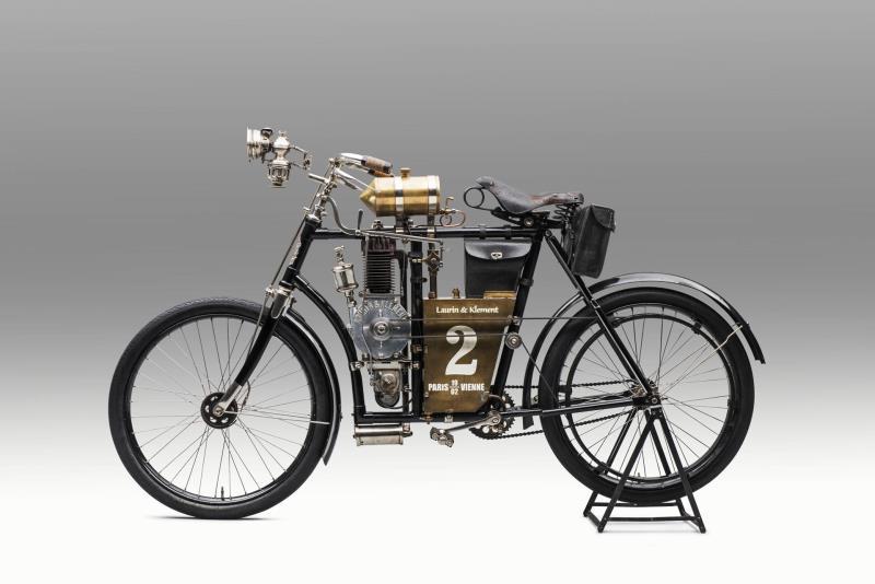 Laurin & Klement SLAVIA B: The history of ŠKODA Motorsport began 120 years ago between Paris and Berlin