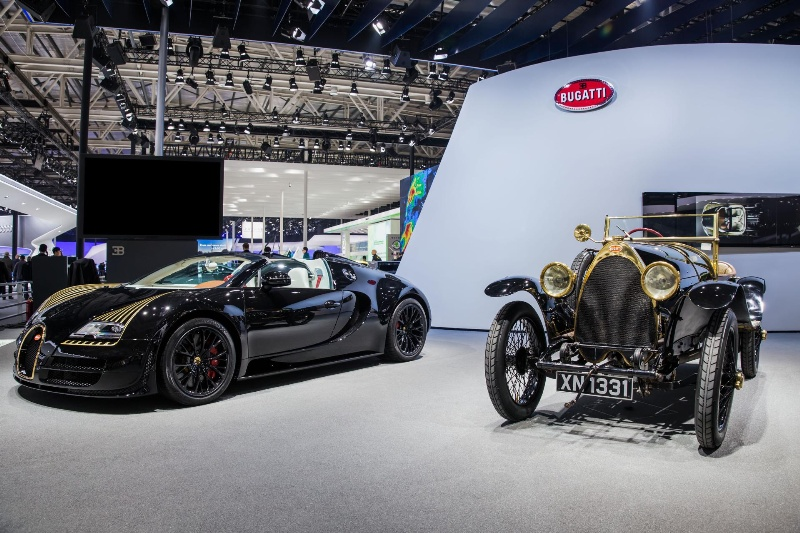 LES LÉGENDES DE BUGATTI': WORLD PREMIERE FOR 'BLACK BESS' AT AUTO ...