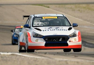 Lewis & Wilkins Go 1-2 In Pirelli World Challenge Practice Friday In TCR Action At Utah Motorsports Campus