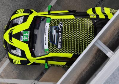 Lexus RC f gt3 24h Daytona 2019 AIM vasser Sullivan # 14 1:43 Spark us 076 nuevo