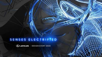Lexus' Electrification Drives Sensory Experience At Milan Design Week 2020