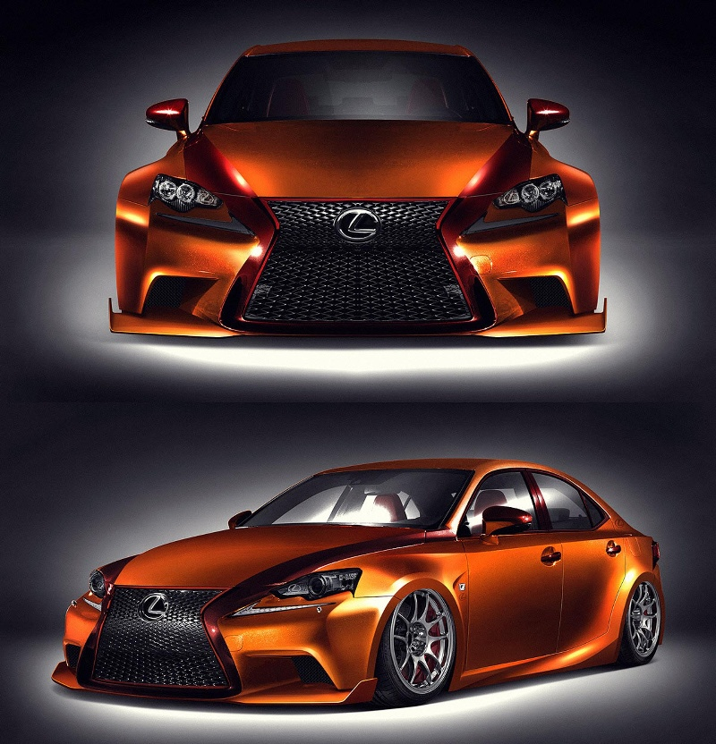 Fan-Created 2014 Lexus IS 350 to Debut at 2013 Specialty Equipment Market Association (SEMA) Show