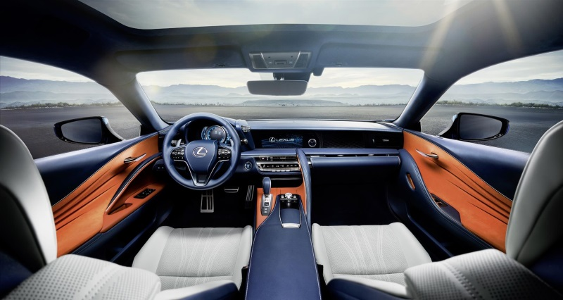 2018 Lexus LC 500 Named To 2017 Wards '10 Best Interiors' List