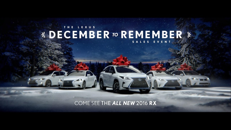Lexus Keeps the Magic Alive This Holiday Season