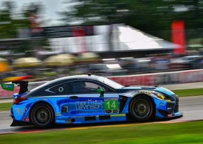 No 14 Lexus Takes Sixth At Road America