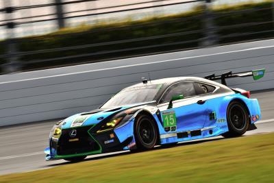 Lexus RC F GT3s Open Second Season At Rolex 24 At Daytona