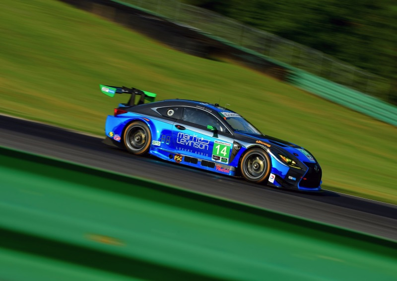 Lexus RC F GT3s On Track At Laguna Seca This Weekend