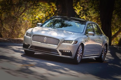 All-New Lincoln Continental Earns Coveted Top Safety Pick+ Award From IIHS