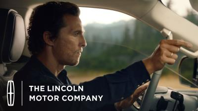Powerful, Refined Navigator Helps Mcconaughey Find His Perfect Rhythm In First Campaign Spot