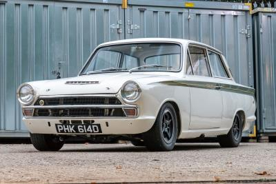 Legendary Lotus Cortina 'Group 5' Works Car Races To Auction