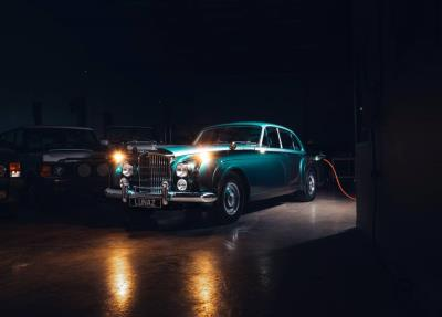 Lunaz: world's first electric classic Bentley and expanded UK EV manufacturing presence