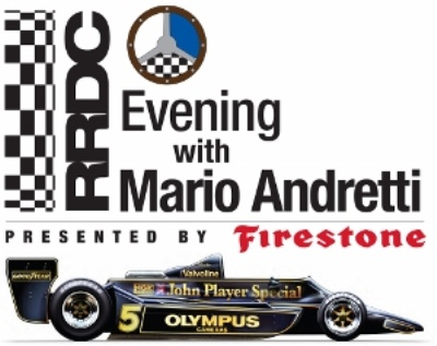 MARIO ANDRETTI TO BE HONORED BY RRDC AT LONG BEACH