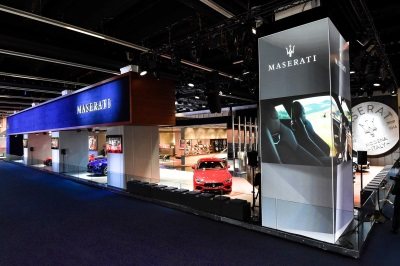 Maserati Reveals New Ghibli And Presents Levante, Quattroporte, Granturismo And Grancabrio My18 At Frankfurt Motor Show
