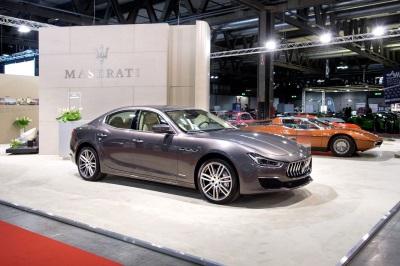 Maserati At Milano Autoclassica 2017