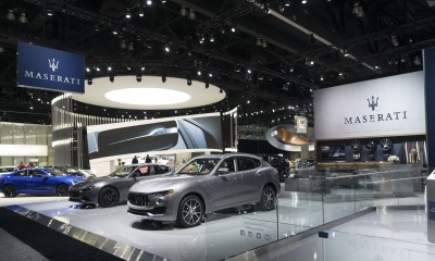 Maserati Debuts Nerissimo Package For Levante, Ghibli And Quattroporte At Los Angeles Auto Show